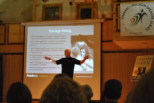 Joe Ehrmann speaks at Inly School