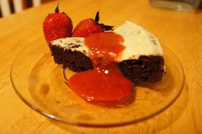 Chocolate Berry Bliss Cake