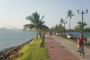 Cycling in Panama City