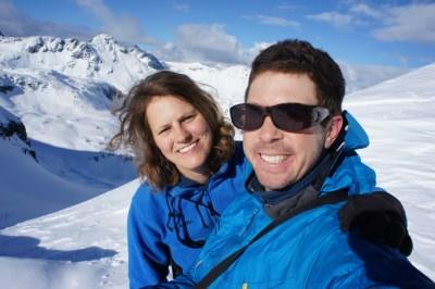 Happy faces on the ridge