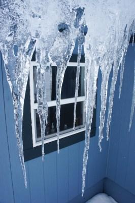 Phelix Hut - it's still winter up there