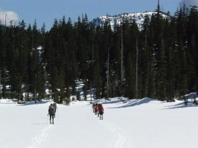 Crossing Gilbert Lake