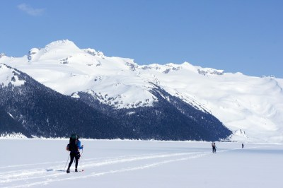 Garibaldi Lake in Winter