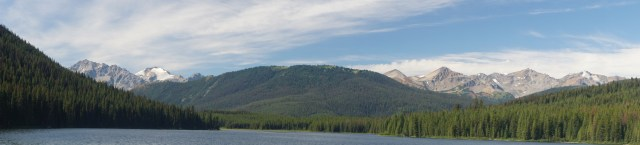 Spruce Lake, on the morning of the fourth day