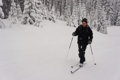 X- Country skiing at