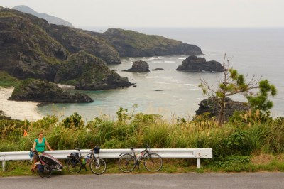 We cycled to all the view points on Zamami Island