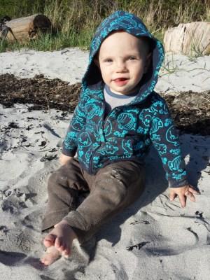 Loves the sand