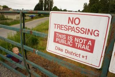 No trespassing Neil!