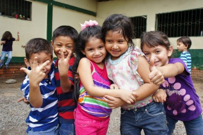 We volunteered in Cofradia Bilingual School at stayed with a local family for 10 days