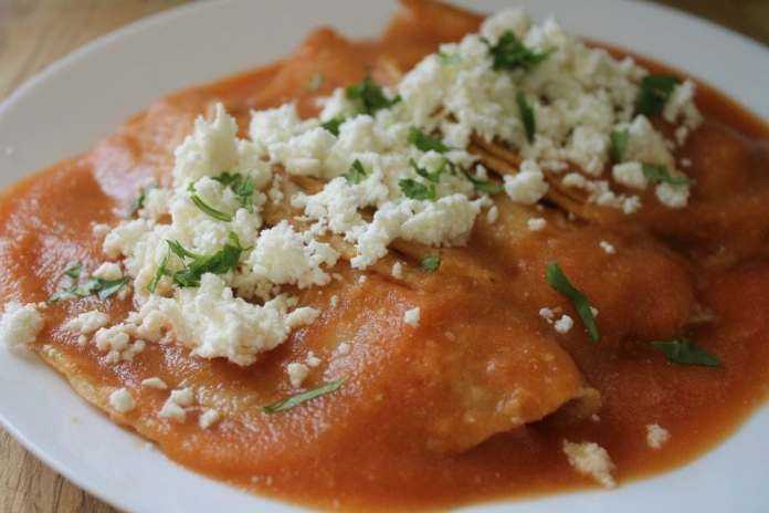 Image result for entomatadas de queso y queso asado con rajas