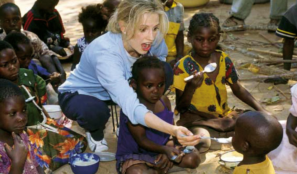 Inma Shara en Zambia