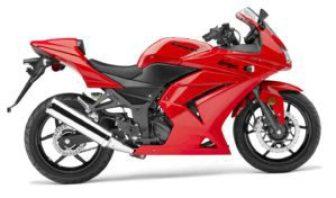 аренда мотоцикла kawasakai Ninja бали