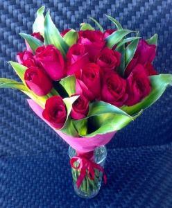 тюльпаны из розы бали