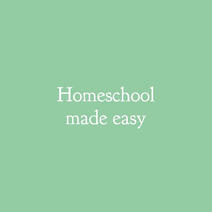 Homeschool made easy