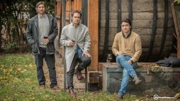 Ignacio, Federico y Franco: tres de los cinco miembros de Alfoz.