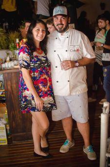Eugenia Loria y Mauricio Hudson