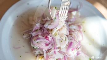 Cocina con sabor peruano.