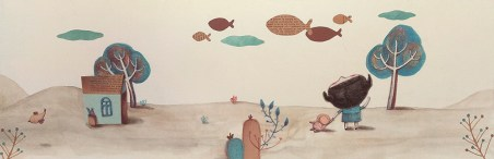Un mar para Emilia, Liliana Bodoc con ilustraciones de Vicky Malamud.