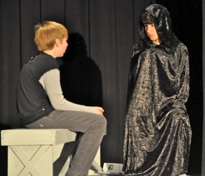 Hillview Middle School's production of The Giver