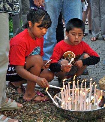 9/11 remembrance service at Trinity Church, Menlo Park