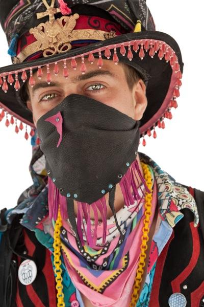 Burning Man portrait by Scott R. Kline (c) 2011