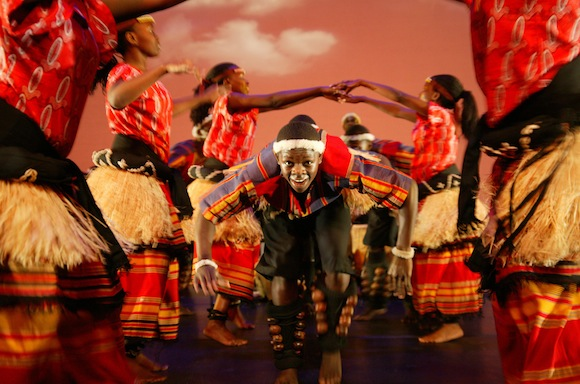 Spirit of Uganda in 2012 U.S. tour