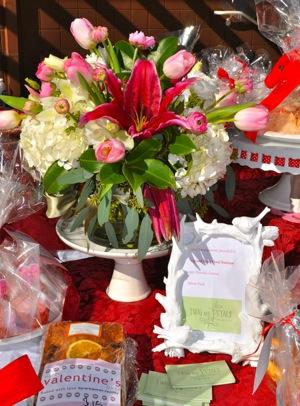 Gift basket for Laurel School bake sale