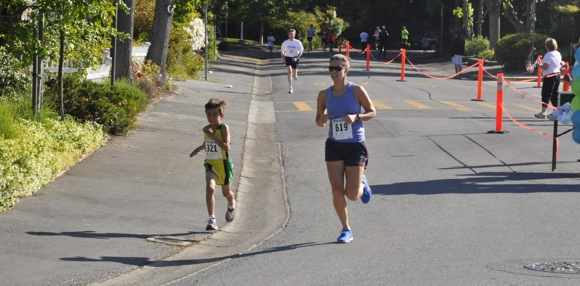 Julian Montoya and Michele Tom_Otter Run
