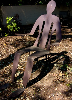 chair in Mince garden