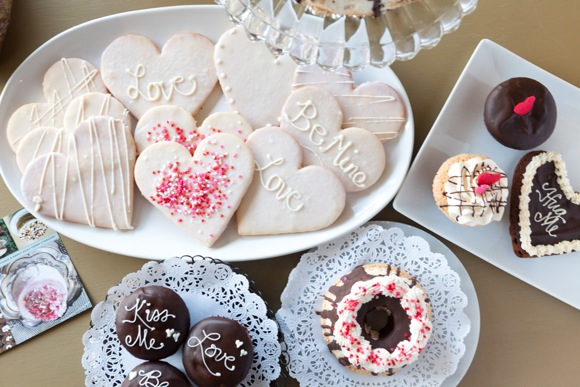 Valentines Day selection at Angel Heart Cakes