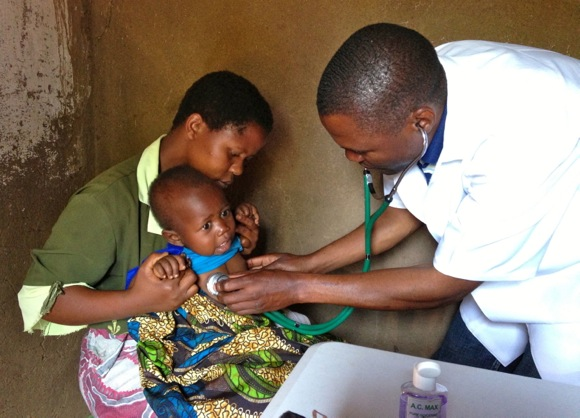 Doctor in Malawi