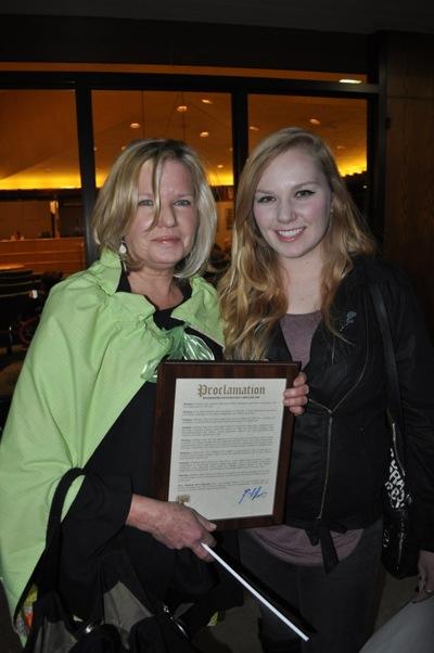 Kathleen with Zoe