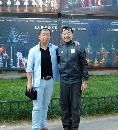 Michael Lowe Mongolian director