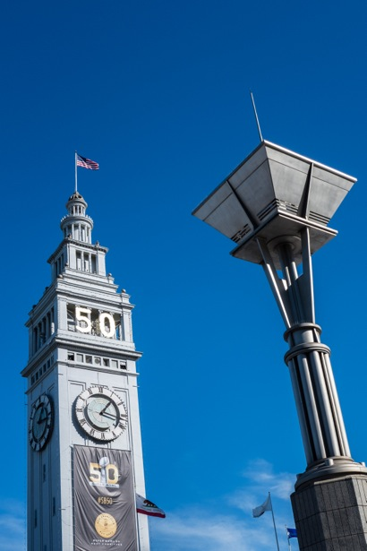 Ferry building with banner_vertical