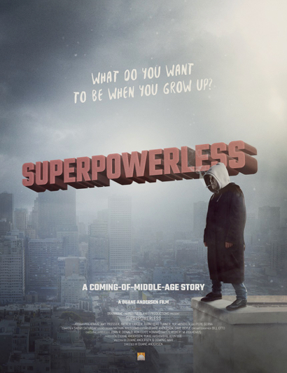 Superpowerless movie poster - 1