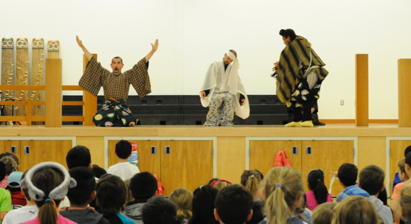Japanese performers at Encinal - 1