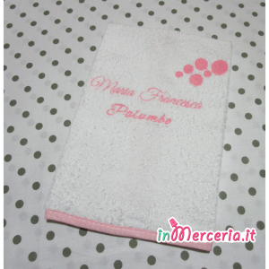 Asciugamano bolle personalizzato con nome