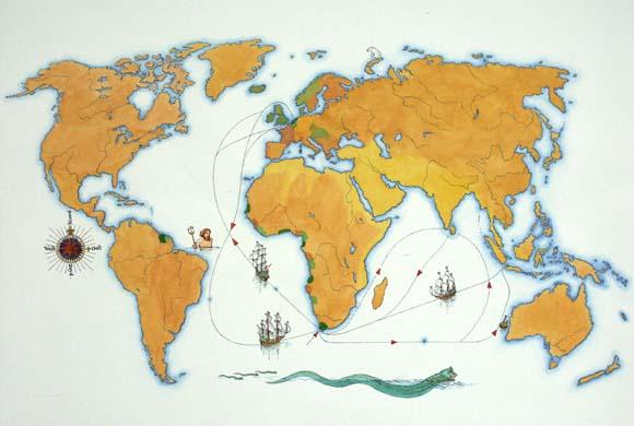 Route van de Verenigde Oost-Indische Compagnie