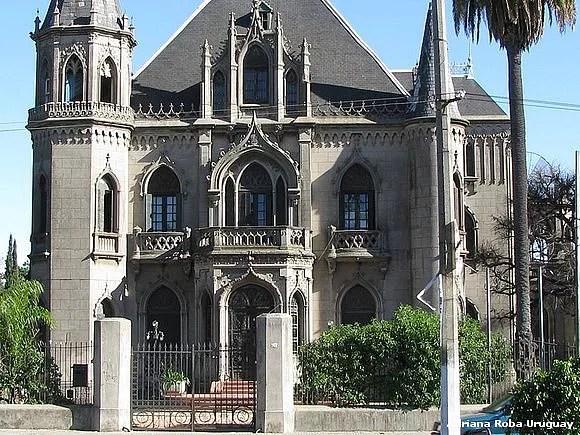 ▷ Castillo Soneira 🥇🥇【 Patrimonio Arquitectonico de MVD 】⋆ √
