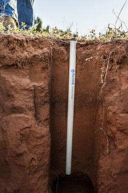 Sentek drill and drop soil sensor