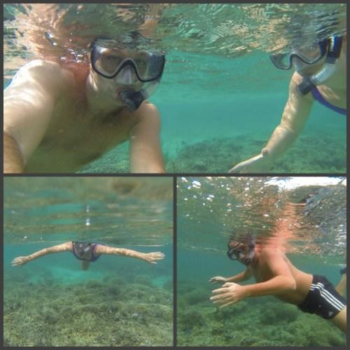 sorkelling in kanawa