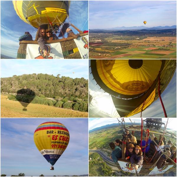 hot air balloon mallorca