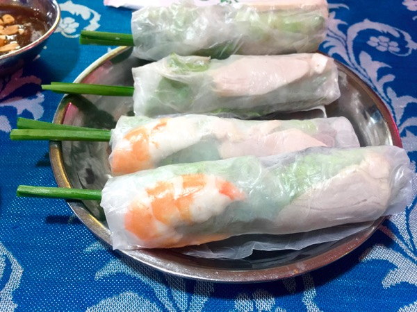 Phu Quoc Diaries Day 3 spring rolls