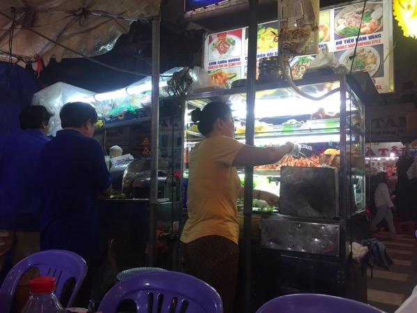 best night market saigon spring rolls