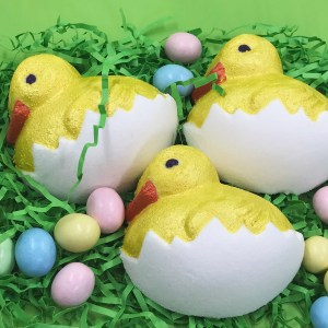Easter bath bomb chicks