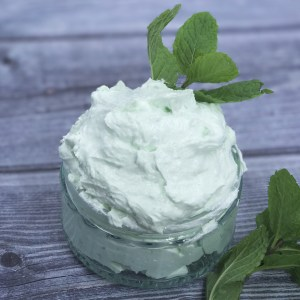 Minty foot butter