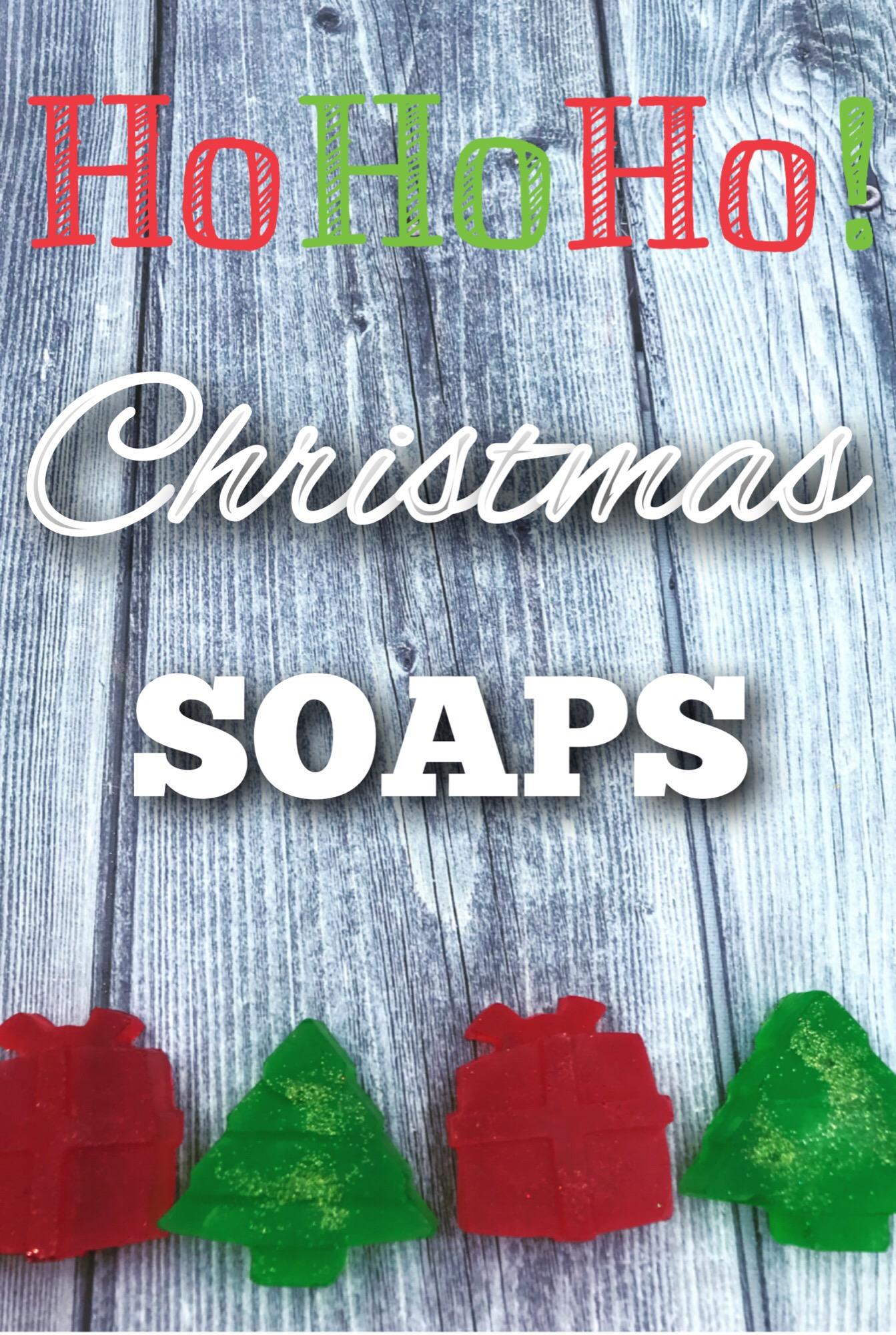 Christmas MP soaps