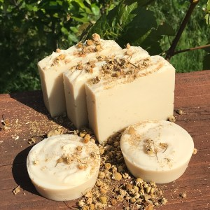 Chamomile soap for sensitive skin