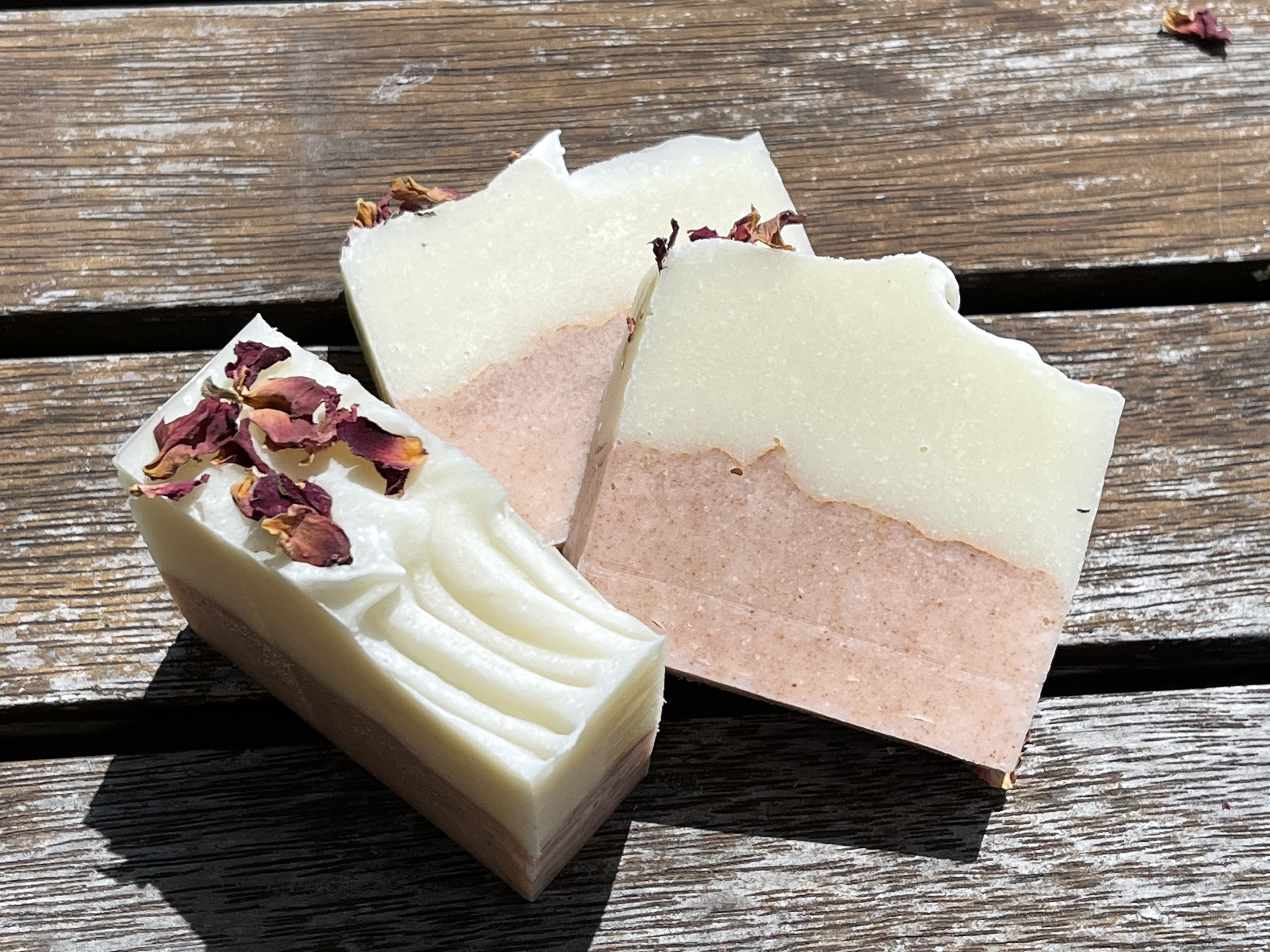 Rosehip and almond soap