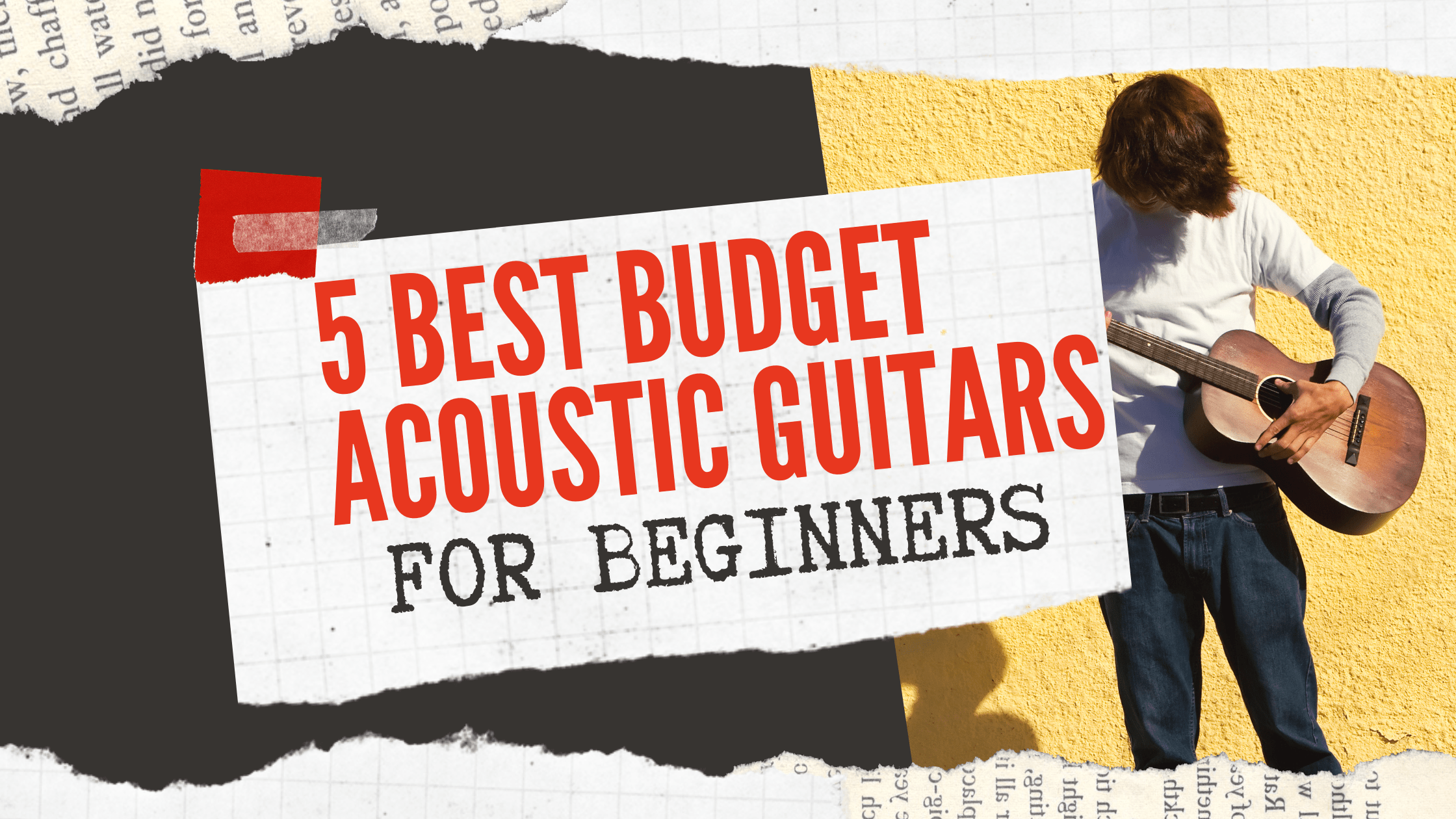 5 Best Acoustic Guitars in India For Beginners in 2021